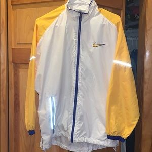 Vintage Men's Nike Reflective Windbreaker
